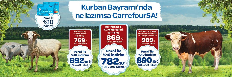 CarrefourSA Kurban Paketleri