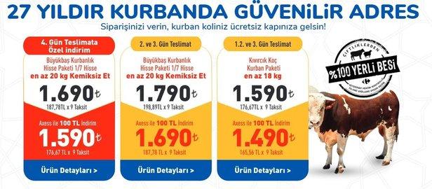 Carrefoursa Kurbanlık Fiyatları 2020